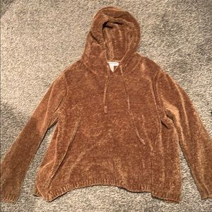 Fuzzy hoodie from Nordstrom Rack